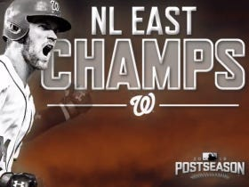 The Nats Have Clinched The NL East