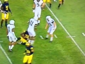 Penn State's Burly Kicker Laid Out Another Returner