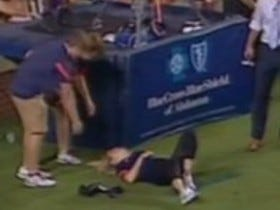 Woman Attempts To Catch Kickoff, Promptly Dies