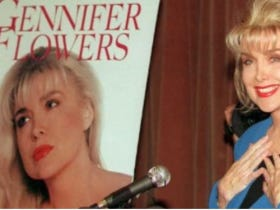 Trump Threatens To Have Gennifer Flowers Sit In the Front Row Of Tonight's Debate