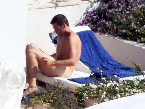 Check Out The Howitzer On Tom Brady!