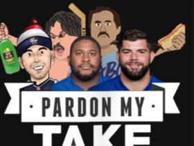 Pardon My Take 9-26 With Marshall Newhouse, Justin Pugh, And Eli Manning