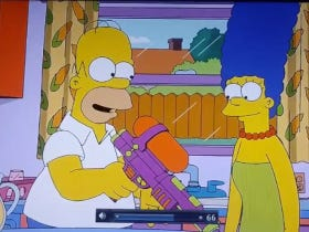 """There Were References To Arnold Palmer In Last Night's Episode Of """"The Simpsons"""""""