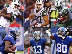 Which Receiving Corps Would You Rather Have – Giants or Jets?