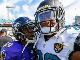 """Jalen Ramsey Comes At Steve Smith In His Postgame Interview, Steve Responds """"I've Got Cleats With Stronger Thread Than You"""""""