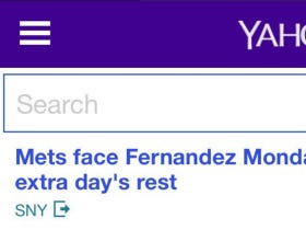 "Yahoo's Front Page Says Jose Fernandez Is Starting Tonight After Getting A Day Off For Rest, Fantasy Alerts Call Him ""Day To Day"""