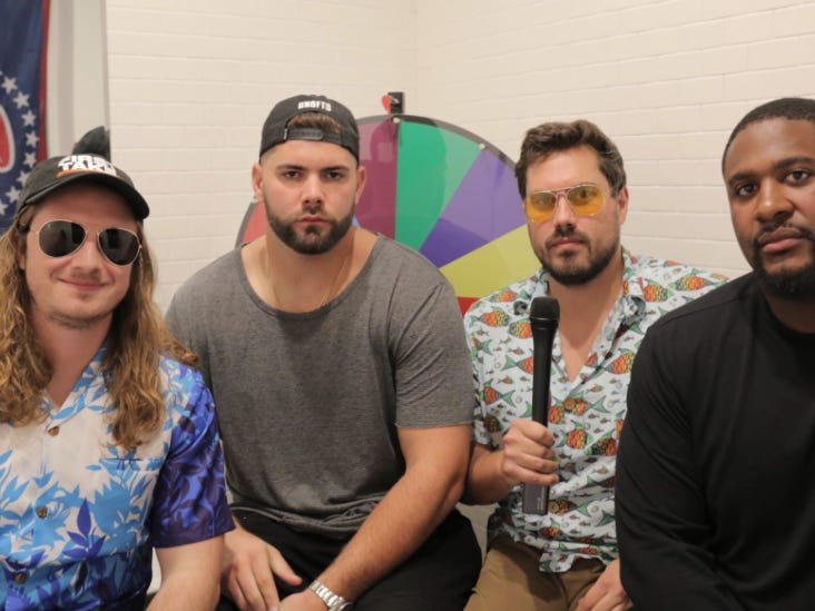 Pardon My Take Exit Interview With Marshall Newhouse And Justin Pugh