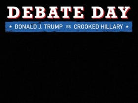 """Donald Trump's """"Crooked Hillary"""" Snapchat Filter For Tonight's Debate Is A Hell Of A Power Move"""