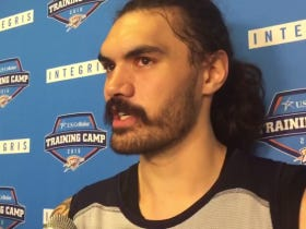 Steven Adams Once Told Kevin Garnett That He Didn't Speak English So KG Wouldn't Talk Trash To Him