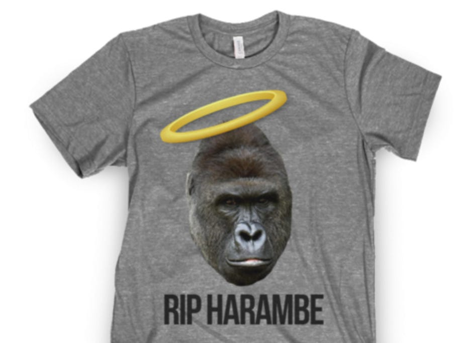 Clemson Bans All References To Harambe For Promoting Racism and Rape Culture
