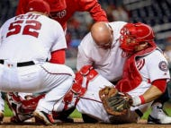 The Nats Dugout Reaction To Wilson Ramos' Injury Says Everything