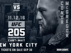 NYC Is Going To Be NUTS With Conor McGregor Now Headlining UFC 205