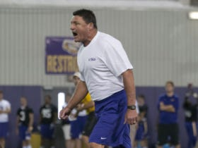 Interim Ed Already Making An Impact, Orgeron Fires Cam Cameron And Walks To Work To Show How Tough He Is
