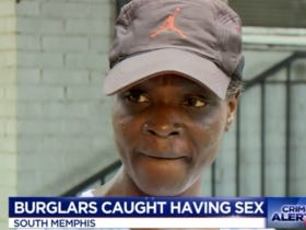 Woman Cockblocked Burglars Banging On Her Couch