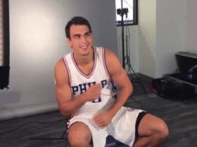 Dario Saric Dancing To The Sixers Theme Song Is Legit Adorable