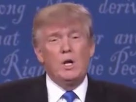 Donald Trump Straight Up Denying His Sniffles Is An Incredible Move