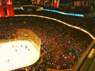 It Was Standing Room Only At Game 1 Of The World Cup Of Hockey Final