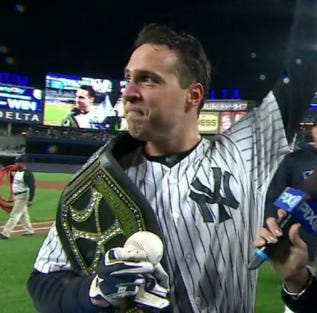 Mark Teixeira Hit A Walk Off Grand Slam To Beat The Red Sox
