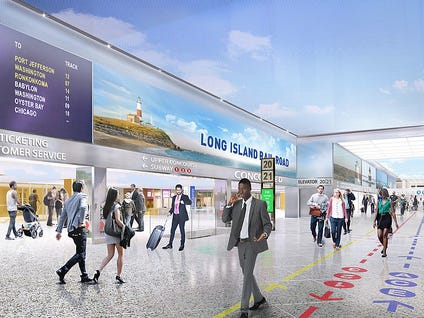 Good News: The Proposed New Penn Station Doesn't Look Like The Most Depressing Place On Earth!