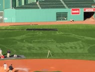 David Ortiz Mowed Into The Centerfield Lawn At Fenway Is One Of The Most Impressive Things I've Ever Seen