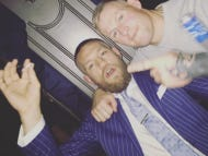 Conor McGregor Posted A Pic On His Instagram Of Himself Maybe Possibly Smoking a Joint