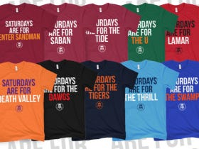 "Even MORE College ""Saturdays Are For The Boys Shirts"" Are Now On Sale! You're Welllllllcommmmmmmeeeeeeeeee!"