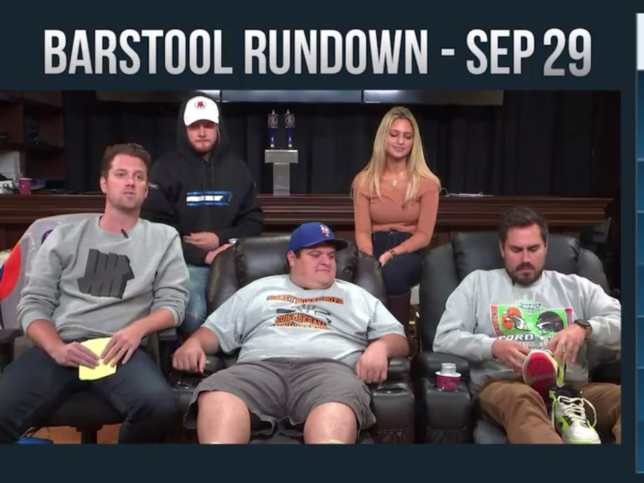 Barstool Rundown September 29, 2016