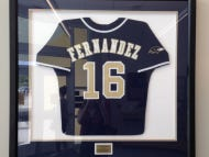 Some Asshole Stole Jose Fernandez's High School Jersey From A Vigil That Was Held For Him
