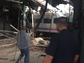 Disaster Strikes On NJ Transit Today As Train Crashes Into The Hoboken Terminal