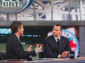 Alex Rodriguez Is Back On Fox!!!