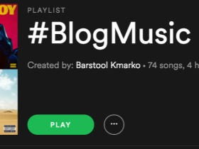 Friday At Work Means It's Time To Fire Up #BlogMusic