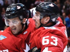 Two Bruins, One Cup: Bergy and Marchy Lead Fellow Hosers To World Cup Victory