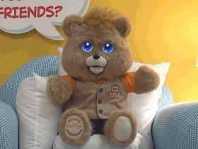 Teddy Ruxpin Is Coming Back, This Time With Terrifying LCD Eyes!