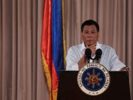 Philippines President Rodrigo Duterte Likens Himself To Hitler