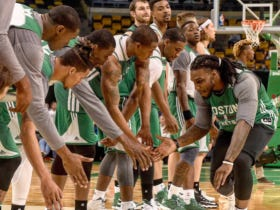 The Celtics Had Their Green Vs White Scrimmage Last Night And Boy Oh Boy Was It Something