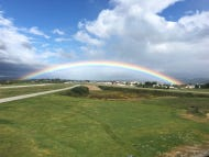 A Rainbow Appeared Over Arnold Palmer's Hometown During His Funeral Yesterday