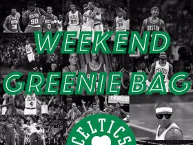 The Weekend Greenie Bag – Name Your Favorite Paul Pierce Moment