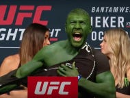Nobody Has Ever Bet On Themselves More Than This UFC Fighter Who Showed Up To The Weigh-In As The Hulk