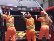There Are Garbage Women In Brazil That Put On Twerking Shows As They Pick Up Trash