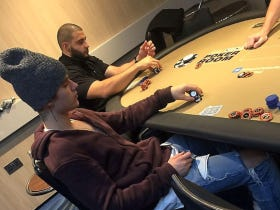 The Fact Justin Bieber Plays 1/2 Hold Em Like A Poor Person Is Without a Doubt The Craziest Thing He Does