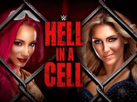 Women Will Headline a WWE PPV For The First Time Ever When Charlotte And Sasha Step Into Hell In A Cell