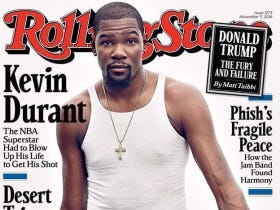 Kevin Durant Tweets Out His Rolling Stone Cover And Gives Twitter More Fuel To Clown The Warriors