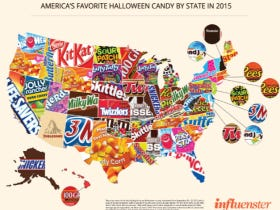 The Map Of Favorite Halloween Candy By State From Last Year Is Still A Downright Travesty To The U.S. of A.
