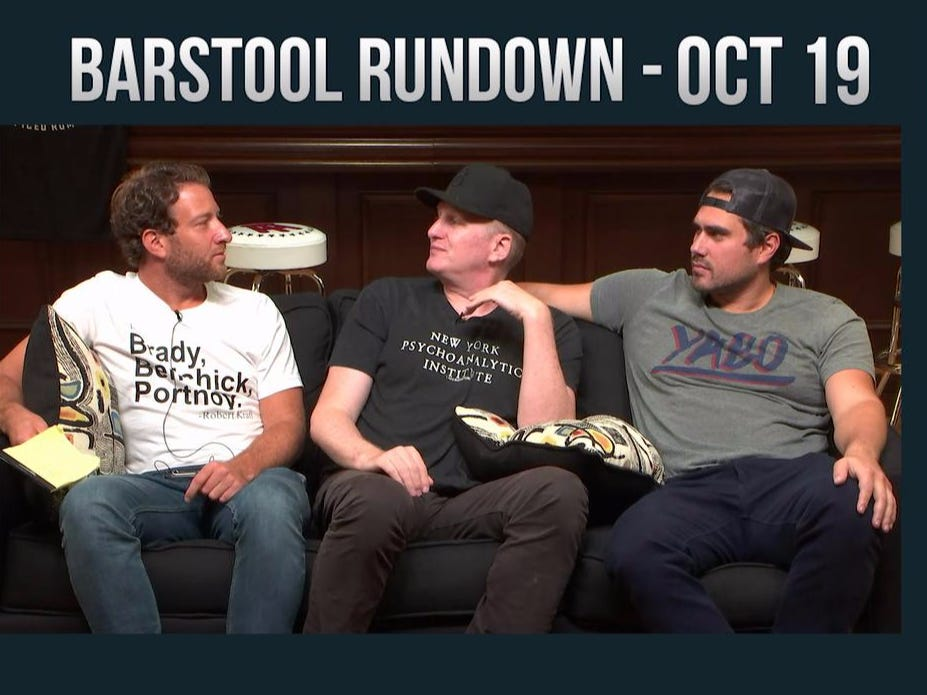 Barstool Rundown – October 19, 2016