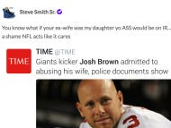 Steve Smith Has Added Josh Brown and Roger Goodell To His Hit List