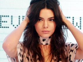 Kendall Jenner Says For Her First Runway Show She Was Just 'Really Excited About Her Tits Being Out'