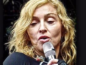 Madonna Trying To Swing The Election To Trump By Promising BJs For Clinton Voters