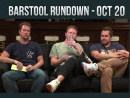 Barstool Rundown October 20, 2016