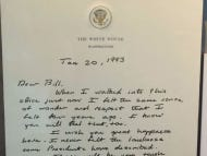 The Letter Bush Sr. Left In The White House For Bill Clinton After Losing The Election Is Going Viral