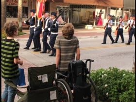 A Handicapped Teenager Stands For The American Flag And His Uncle Used It As A Chance To Bodybag Anthem Protesters On Facebook